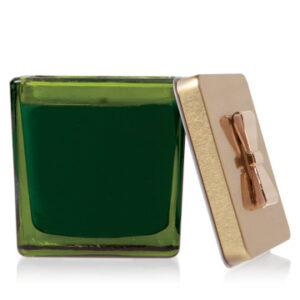 FRASIER FIR GREEN GLASS GIFT BOX CANDLE