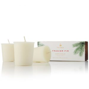 FRASIER FIR VOTIVE 3 CANDLE SET