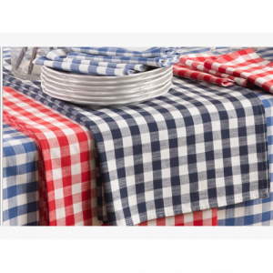 FRENCH BLUE GINGHAM TABLECLOTH