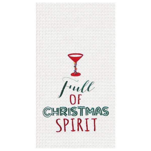 FULL OF CHRISTMAS SPIRIT TOWEL