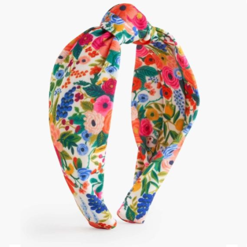 GARDEN PARTY KNOTTED HEADBAND