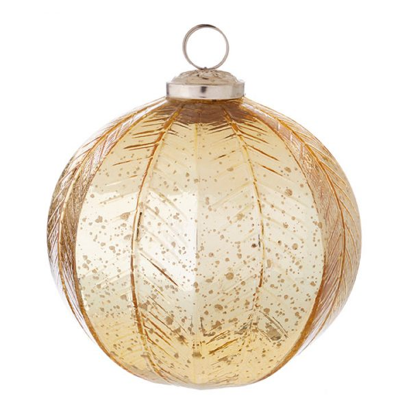 GEOMETRIC BALL ORNAMENT