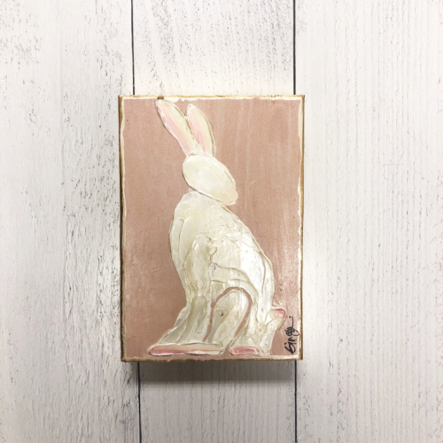 GINGER LEIGH DESIGNS PINK BUNNY