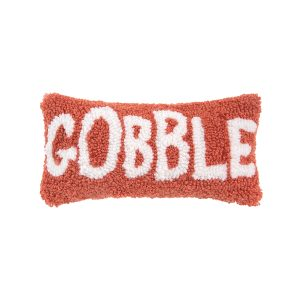 GOBBLE HOOKED PILLOW