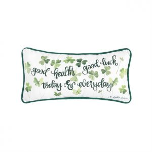GOOD HEALTH & GOOD LUCK PILLOW