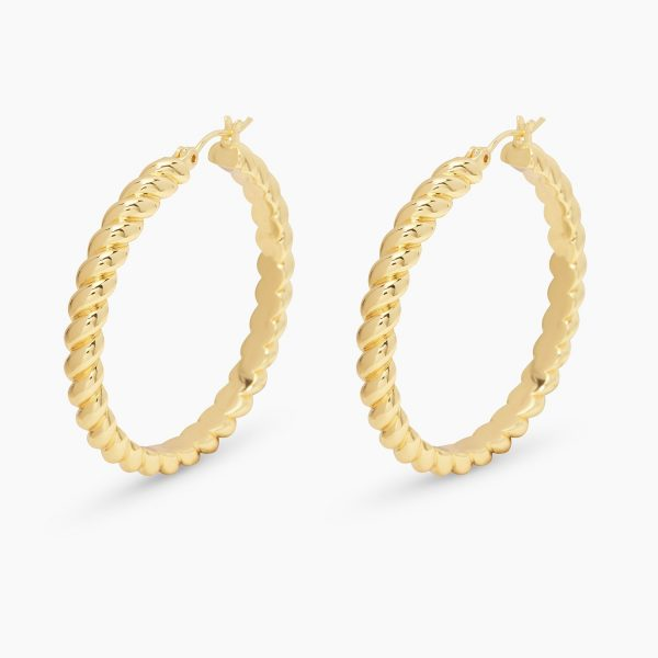 GORJANA CREW STATEMENT HOOPS