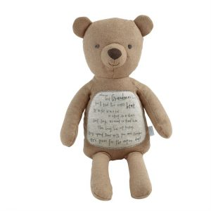 GRANDMA POEM PLUSH BEAR