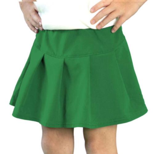 GREEN TENNIS SKORT