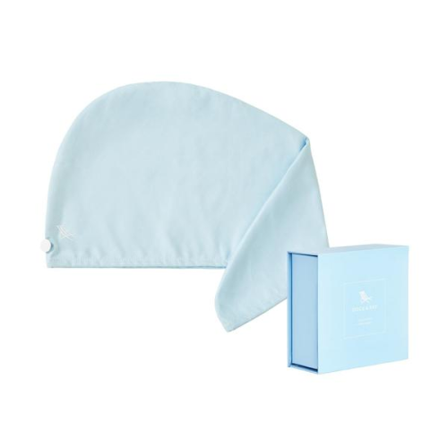 DOCK & BAY HAIR WRAP TOWEL IN ALASKA BLUE