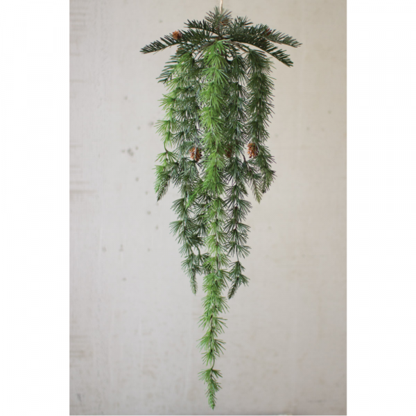 HANGING PINE WITH PINECONES