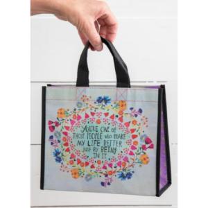 HAPPY BAG YOU MAKE LIFE BETTER BAG