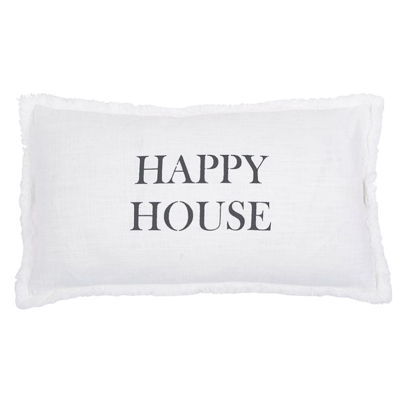 Happy House Pillow Magpies Gifts
