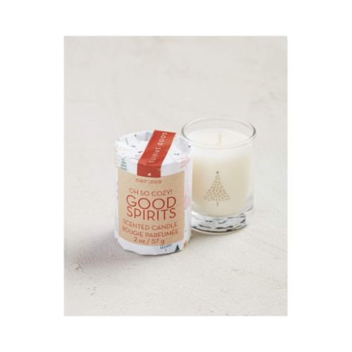 HOLIDAY WRAPPED VOTIVE 2 OZ