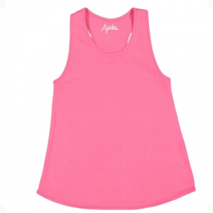 HOT PINK TANK TOP WITH RACER BACK