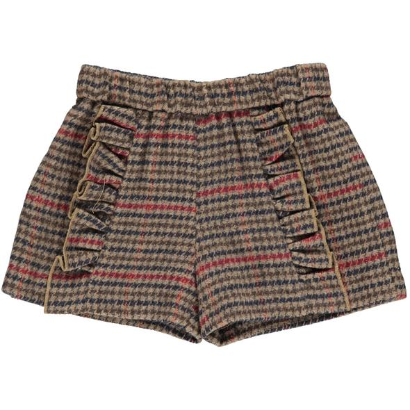 HOUNDSTOOTH PAISLEY SHORT