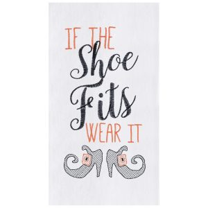 IF THE SHOE FITS TOWEL