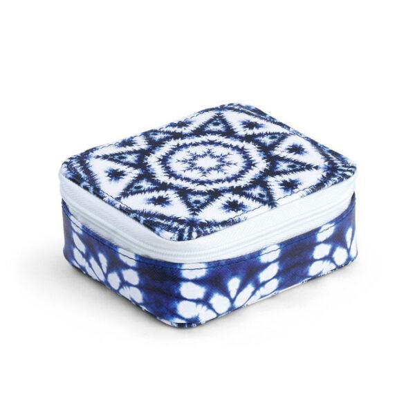 INDIGO PATTERN PILL BOX