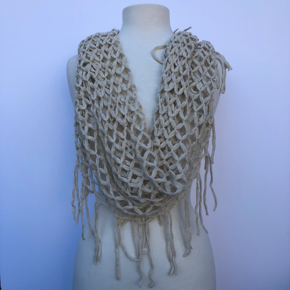 infinity knitted design scarves magpies gifts