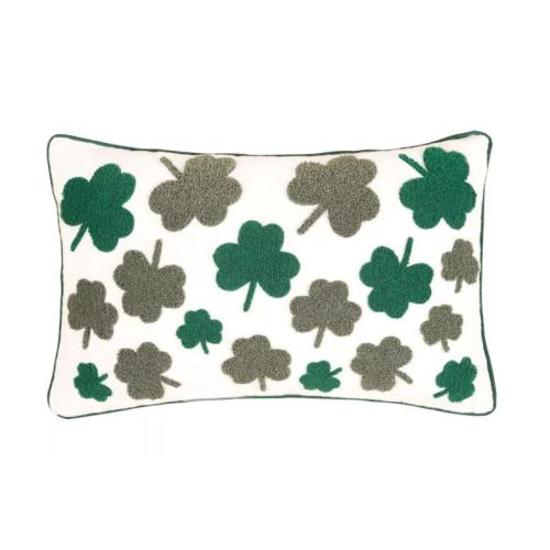 IRISH CLOVER PILLOW