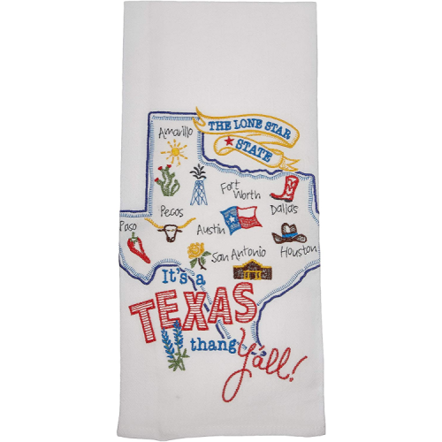IT'S A TEXAS THING Y'ALL DISH TOWEL