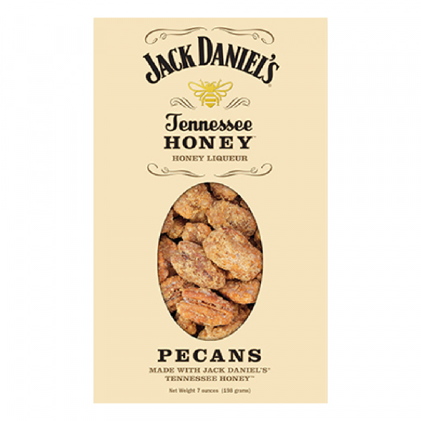 JACK DANIELS TENNESSEE HONEY PECANS 7 OZ.