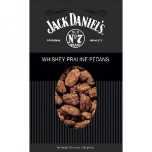 JACK DANIELS WHISKEY PRALINE PECANS 10 OZ.