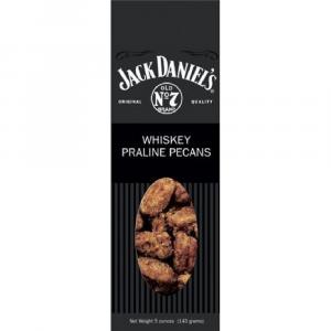 JACK DANIELS WHISKEY PRALINE PECANS 5 OZ.