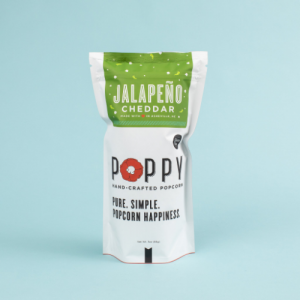 POPPY JALAPENO CHEDDAR HAND-CRAFTED POPCORN