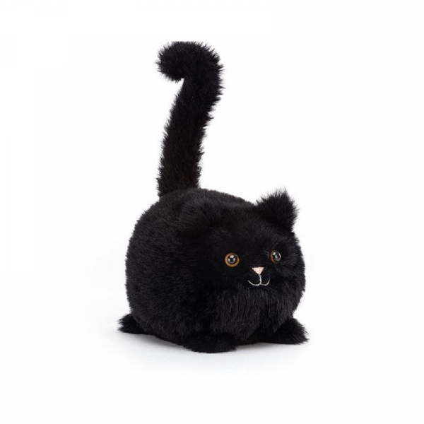 JELLY CAT I AM BLACK KITTEN CABOODLE