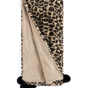 JILL THROW IN LEOPARD