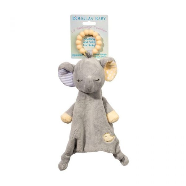 JOEY GRAY ELEPHANT LIL' TEETHER