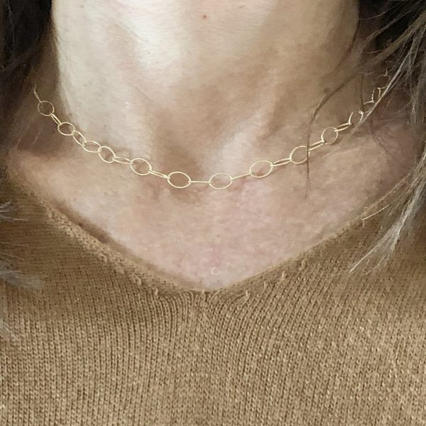 JULIE GOLD LAYERING NECKLACE