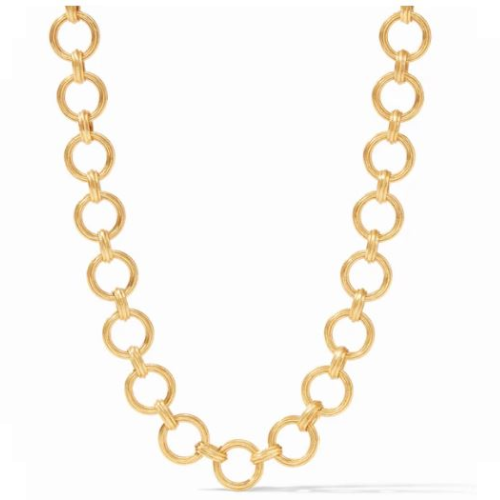 JULIE VOS BARCELONA DEMI LINK NECKLACE