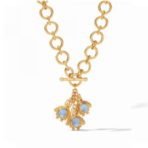 JULIE VOS BEE CHARM NECKLACE