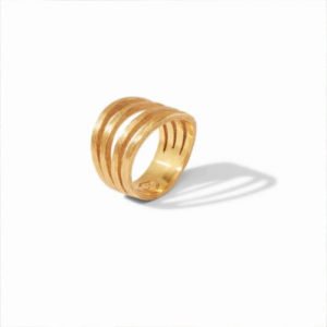 JULIE VOS GOLD ASPEN RING