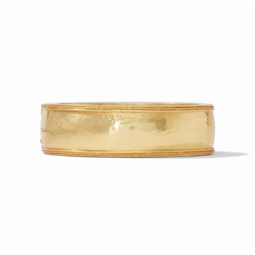 JULIE VOS GOLD CASSIS STATEMENT HINGE BANGLE
