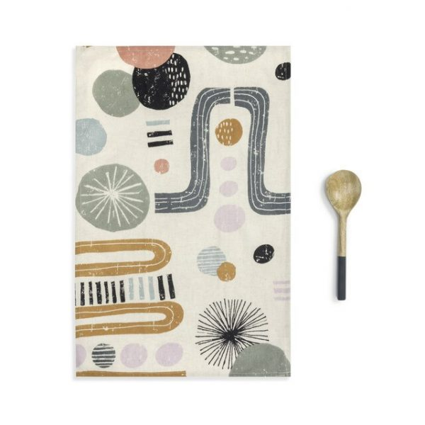 KALEIDOSCOPE KITCHEN TOWEL UTENSIL SET