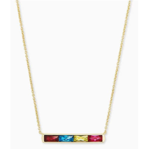 KENDRA SCOTT JACK GOLD PENDANT NECKLACE