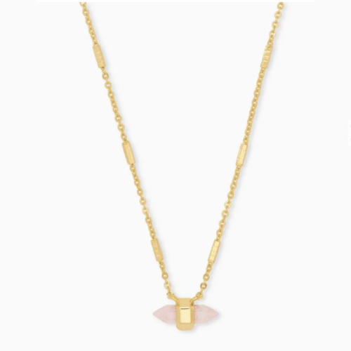 KENDRA SCOTT JAMIE GOLD PENDANT NECKLACE