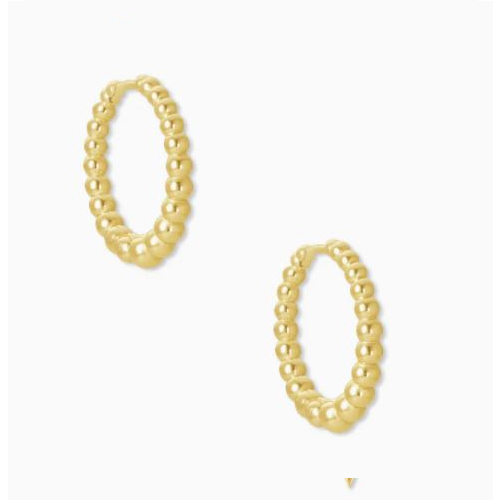 KENDRA SCOTT JOSIE HUGGIE EARRINGS