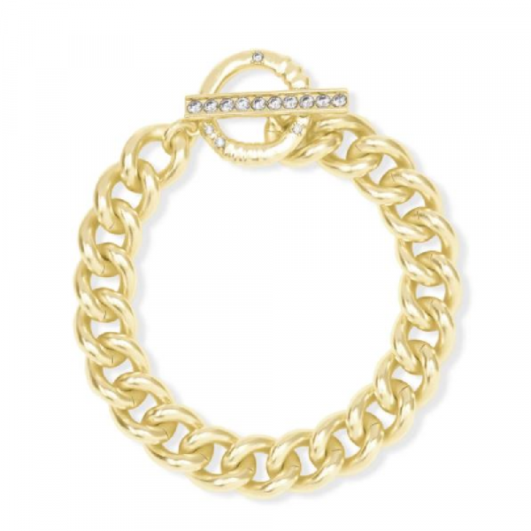 KENDRA SCOTT WHITLEY CHAIN BRACELET IN GOLD