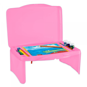 KIDS PINK ACTIVITY DESK