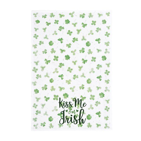 KISS ME I'M IRISH KITCHEN TOWEL