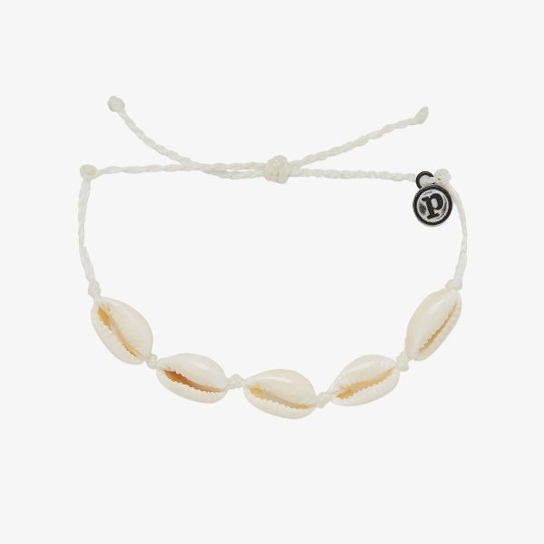 KNOTTED COWRIES BRACELET