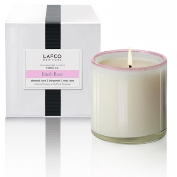 LAFCO BLUSH ROSE SUNROOM CANDLE
