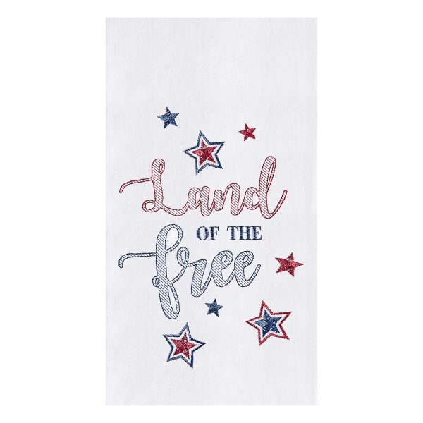 LAND OF THE FREE DISH TOWEL