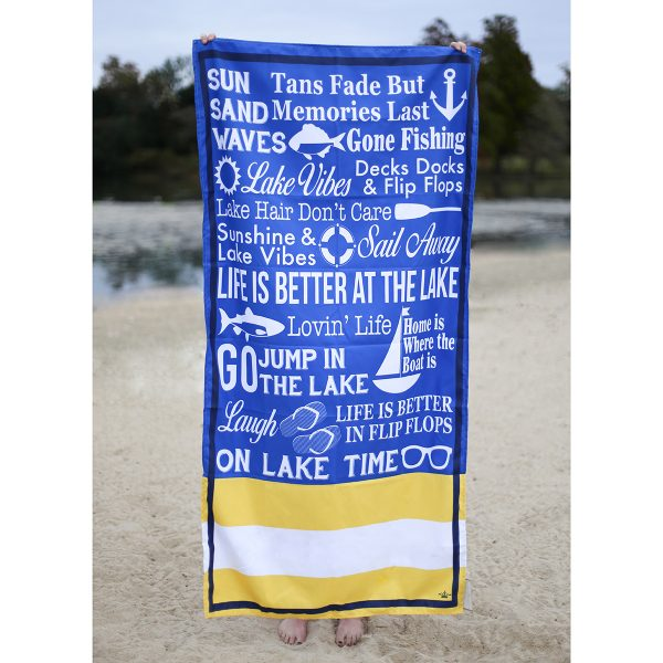 LANIER BEACH TOWEL