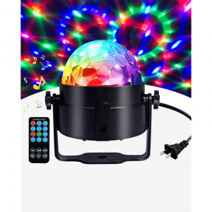 LED PARTY LIGHT WITH REMOTE CONTROL