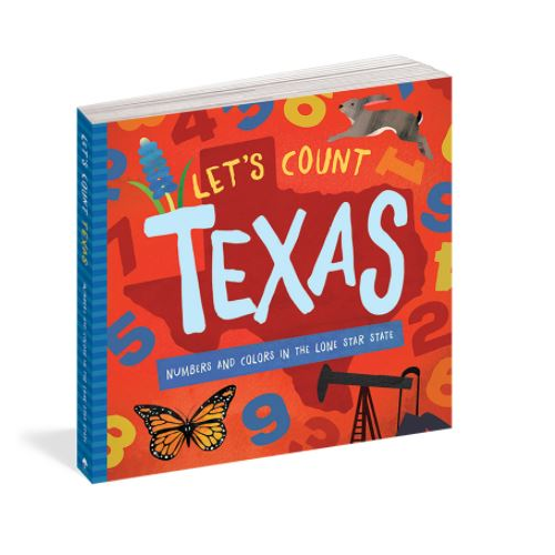 LET'S COUNT TEXAS BOOK