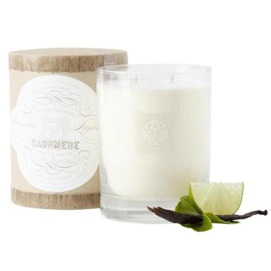 LINNEA'S LIGHTS CASHMERE 2 WICK CANDLE
